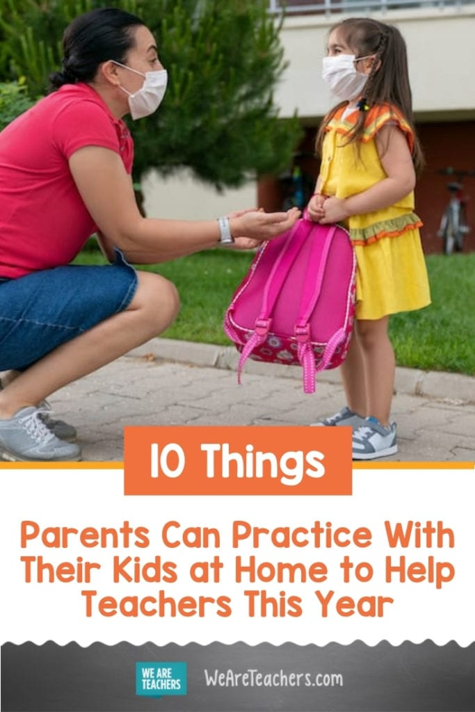 5 Things Parents Can Practice With Their Kids at Home to Help Teachers This Year