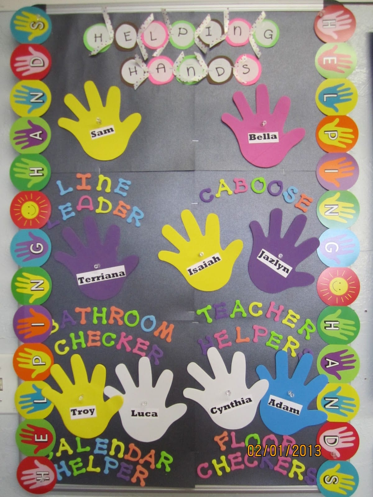 Image result for helping hands job chart