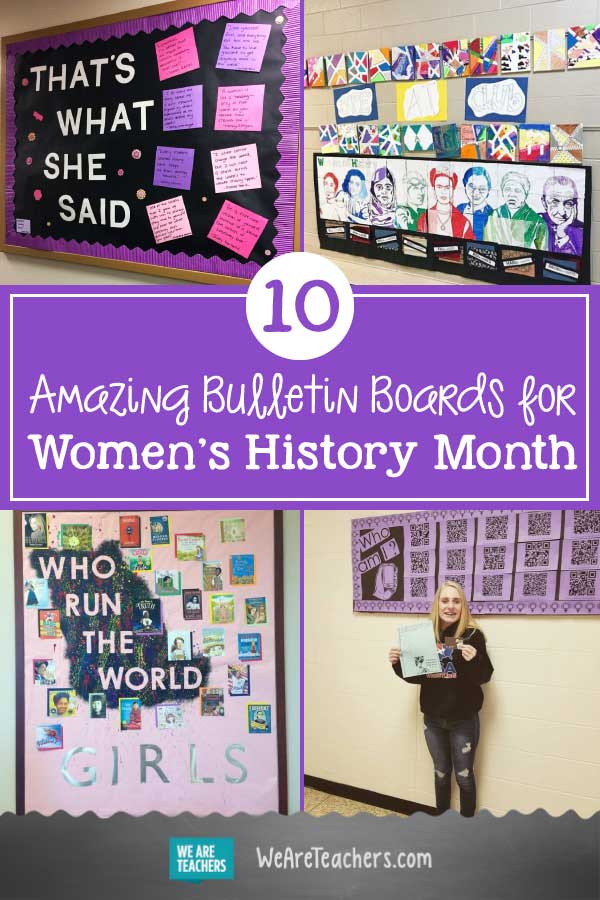 10 Amazing Bulletin Boards That Celebrate All Things Her-story
