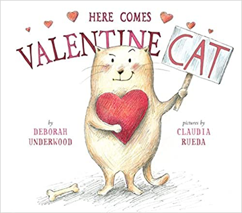 Here Comes Valentine Cat book cover