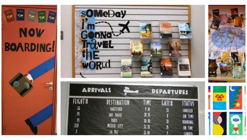 Travel Classroom Theme Ideas - Bulletin Boards, Decor, and More
