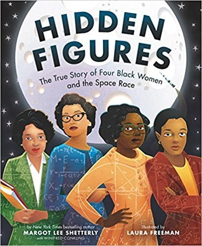 Best Second Grade Books - Hidden Figures