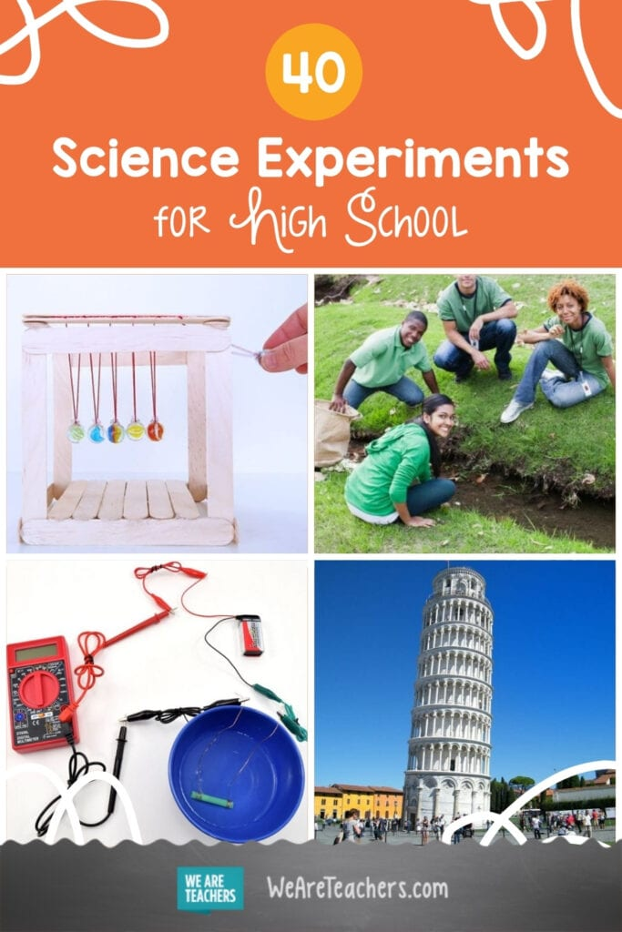 40 Best Science Experiments for High School Labs and Science Fairs