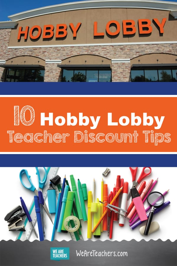 Hobby Lobby Teacher Discount Tips Shopping Advice From