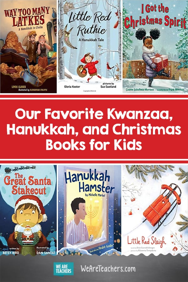 Our Favorite Kwanzaa, Hanukkah, and Christmas Books for Kids