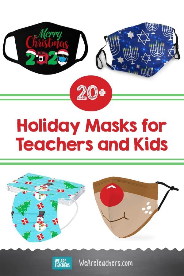 20+ Holiday Masks for Teachers and Kids