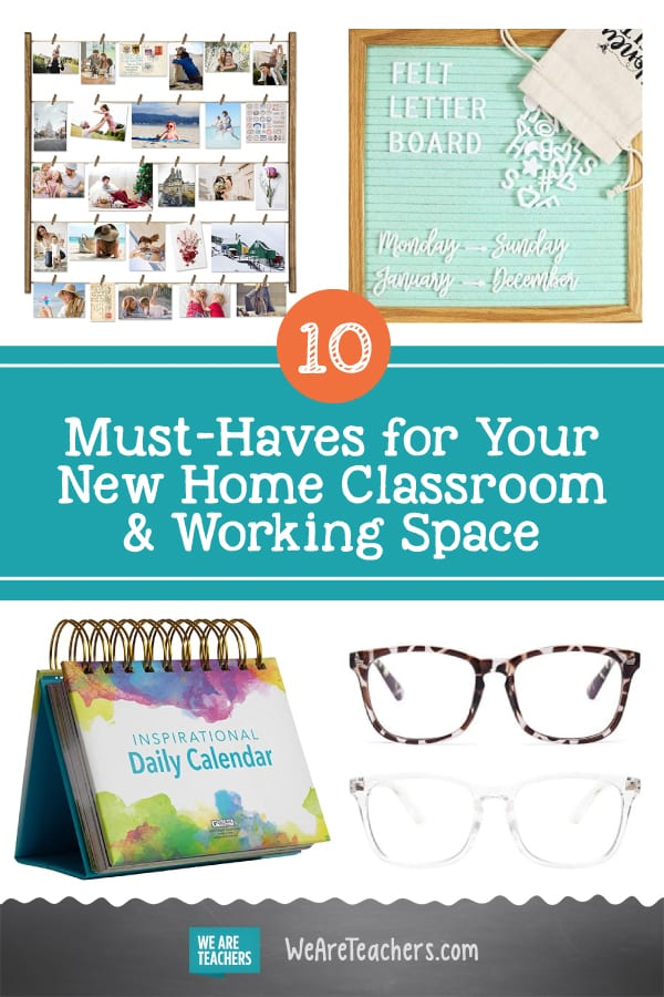10 Must-Haves for Your New Home Classroom & Working Space