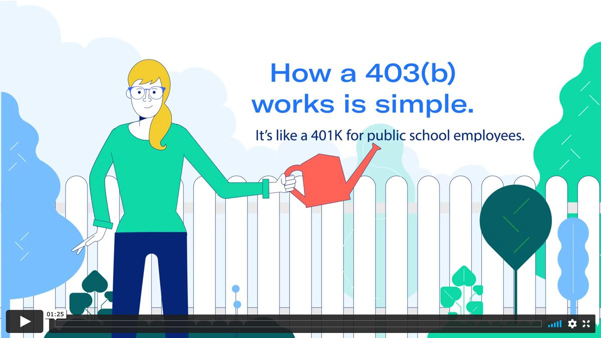 How a 403b works.