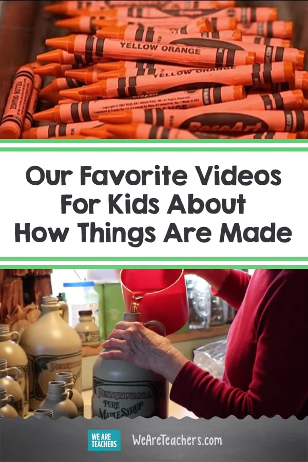 Our Favorite Videos For Kids About How Things Are Made