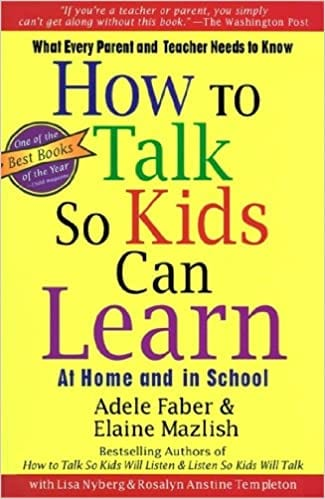 How to Talk So Kids Can Learn book cover.