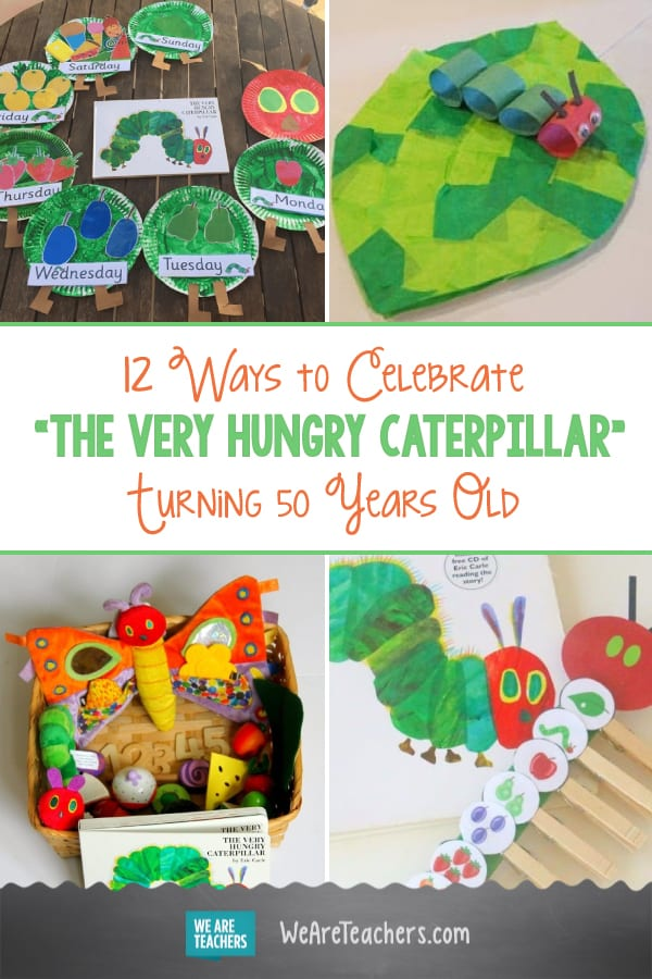 """Eric Carle's """"The Very Hungry Caterpillar"""" Turns 50 Years Old"""