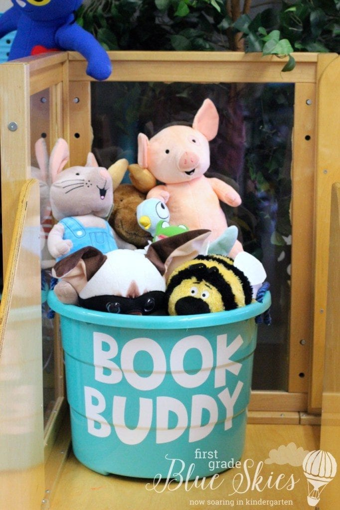 Hygge Book Buddy by First and Kinder Blue Skies