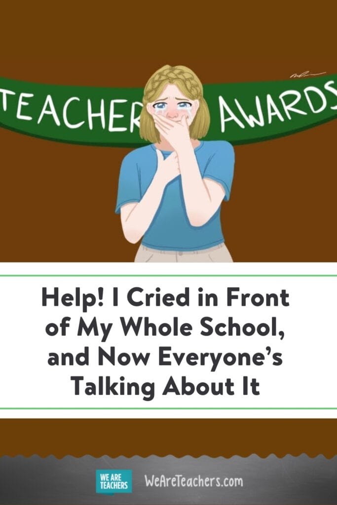 Help! I Cried in Front of My Whole School, and Now Everyone's Talking About It