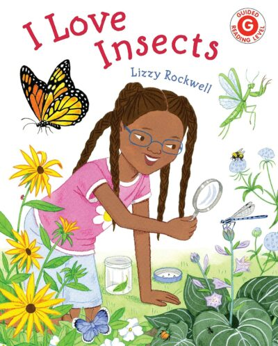 Book cover for I Love Insects as an example of opinion writing mentor texts