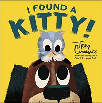 Book cover for I Found a Kitty as an example of opinion writing mentor texts