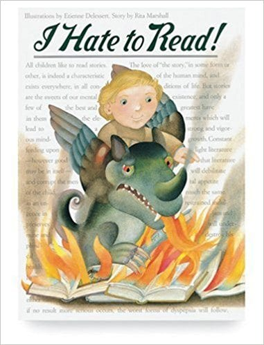 books about reading: i hate to read