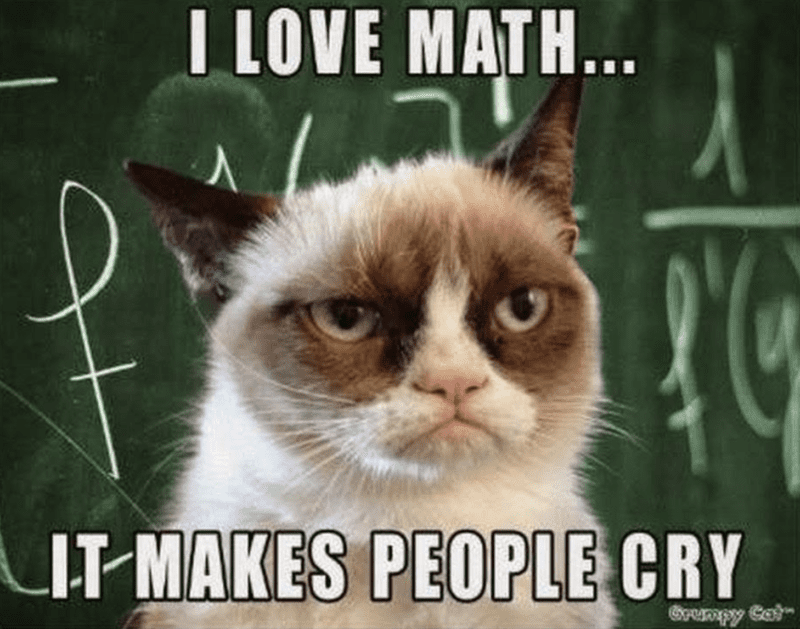 """""""I love math... it makes people cry"""""""