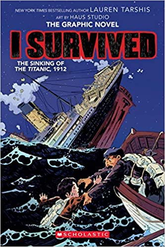 Book cover for I Survived the Titantic Graphic Novel