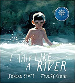 Book cover for I Talk Like a River as an example of children's books about disabilities