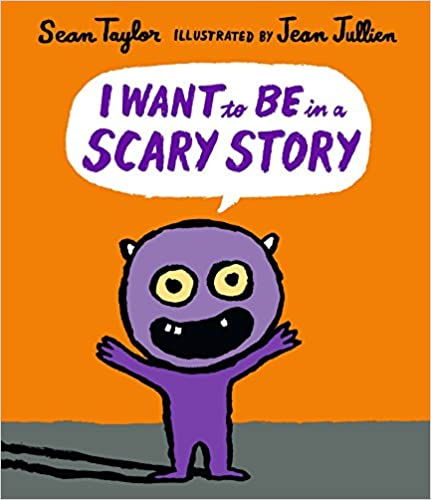 Book cover for I Want to be in a Scary Story as an example of kids books about monsters