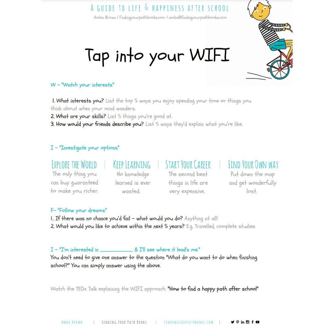 Professional skills activity, Tap Into Your Wifi from IBM teacher toolkit