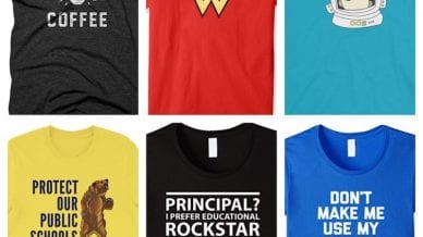 12 Essential T-Shirts for Principals