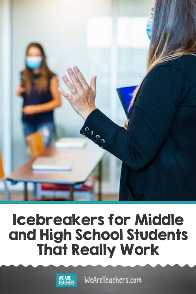 Icebreakers for Middle and High School Students That Really Work
