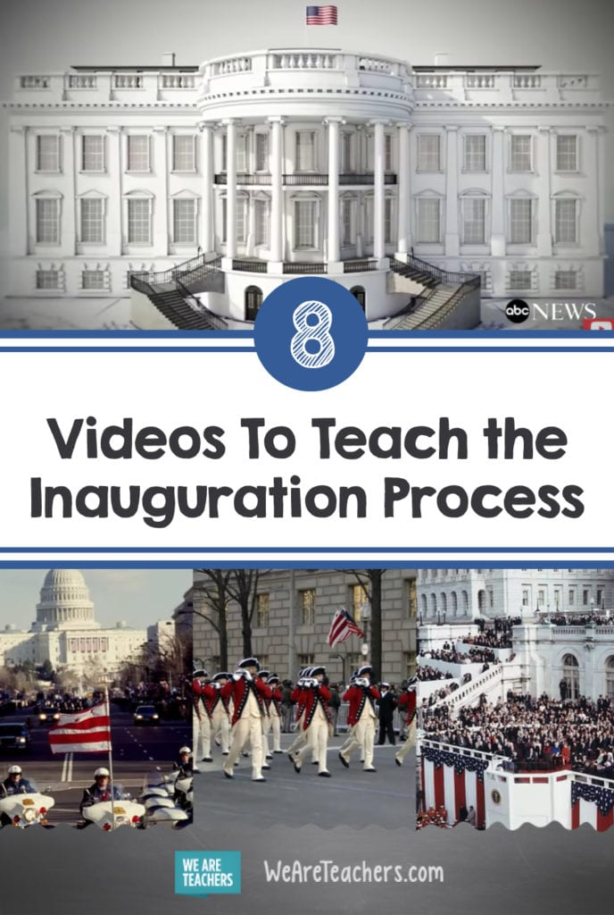 8 Videos To Teach the Inauguration Process