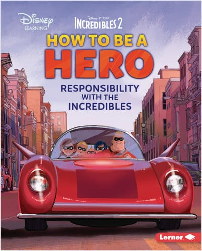 Character Education Book Cover - How to Be a Hero
