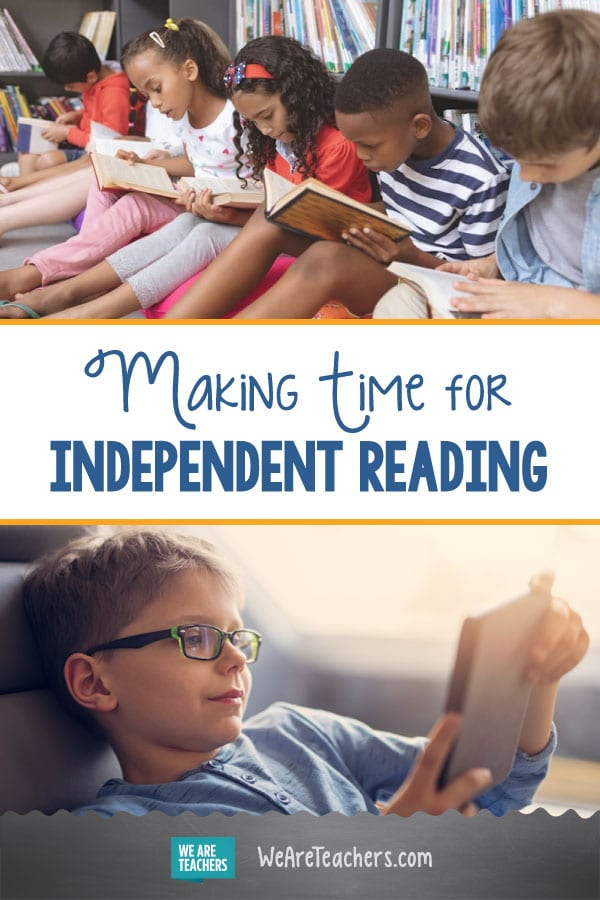 70% of Educators Say There Isn't Enough Time Set Aside for Independent Reading