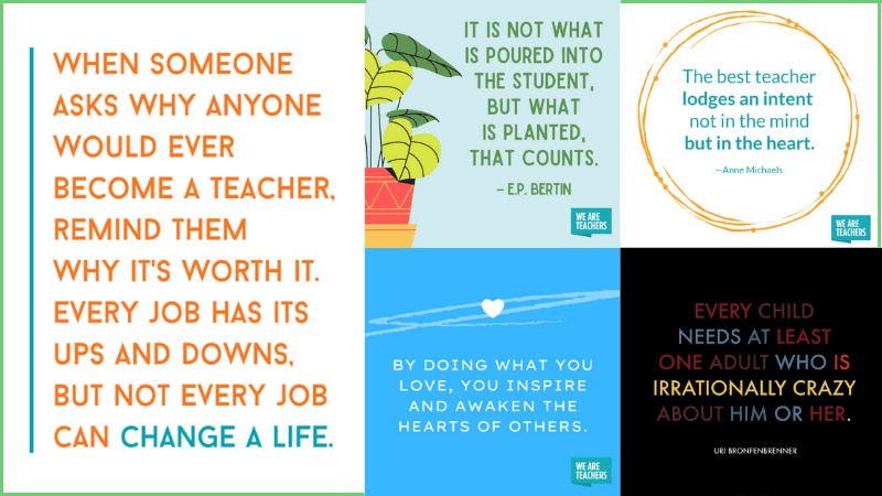 Inspirational Teacher Quotes 2