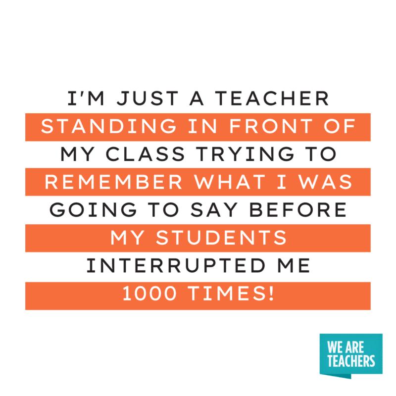 I'm not just a teacher