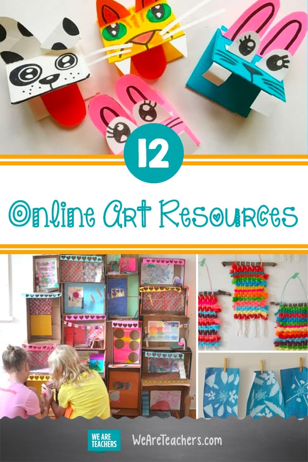 Inspire Your Kids' Creativity With These 12 Online Art Resources