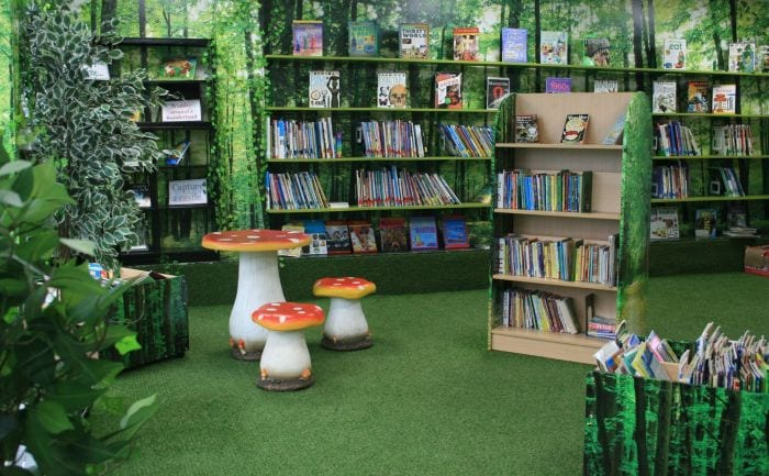 Inspiring School Libraries The Guardian