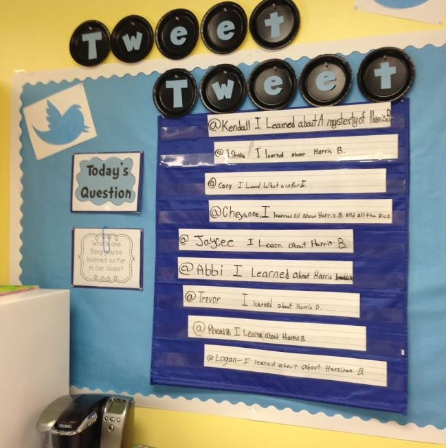 Interactive Bulletin Boards Life in Fifth Grade