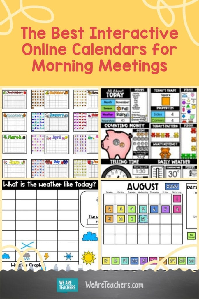 The Best Interactive Online Calendars for Morning Meetings and More