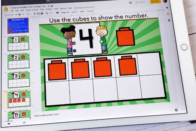 Interactive Google Slides Life Over Cs