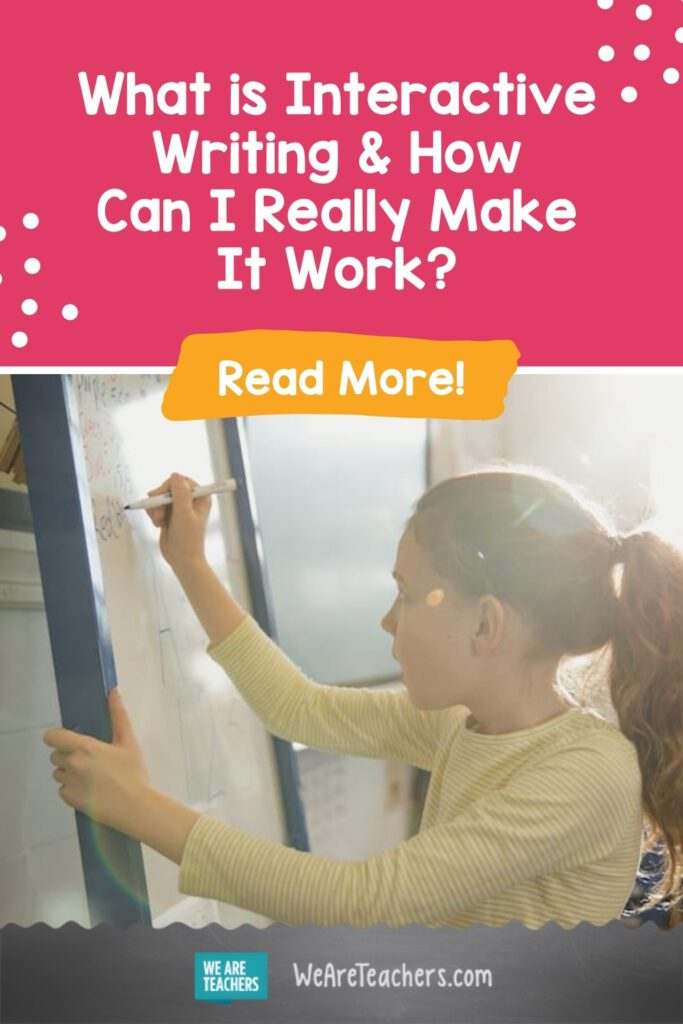 What is Interactive Writing & How Can I Really Make It Work?