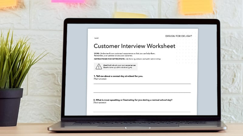Customer Empathy Worksheet