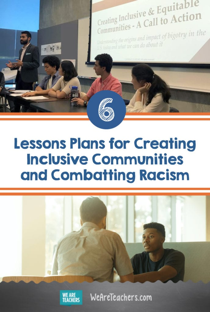 6 Lessons Plans We Love for Creating Inclusive Communities and Combatting Racism