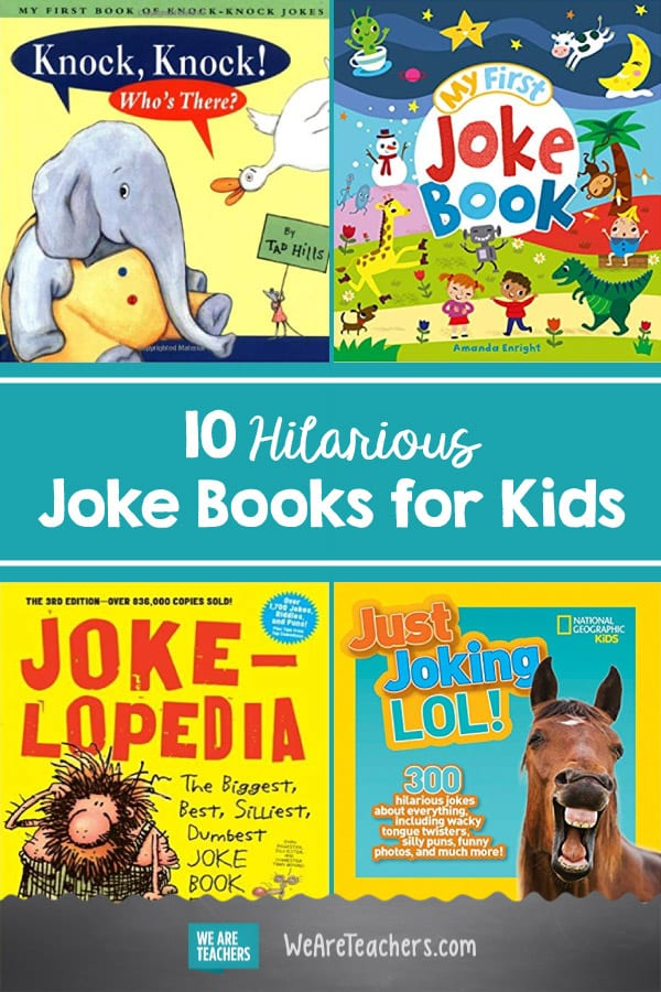 10 Hilarious Joke Books for Kids