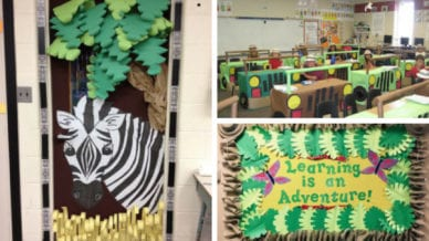 Jungle Classroom Theme Ideas