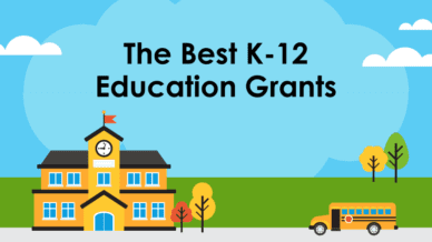The best K-12 education grants.