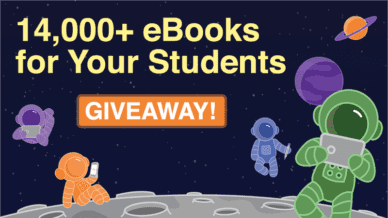 Giveaway: 14,000+ eBooks for Your Students