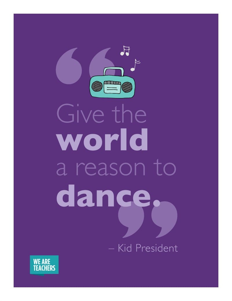 Kid President Quotes Dance