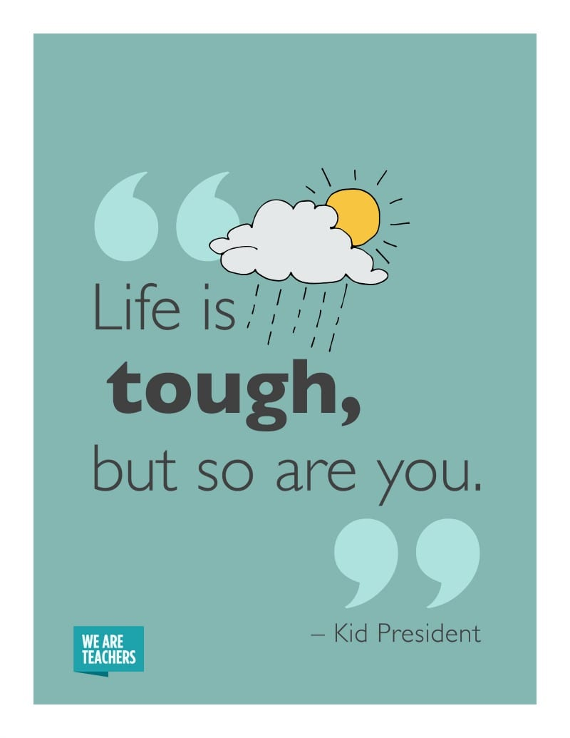 Kid President Quotes Life if Tough