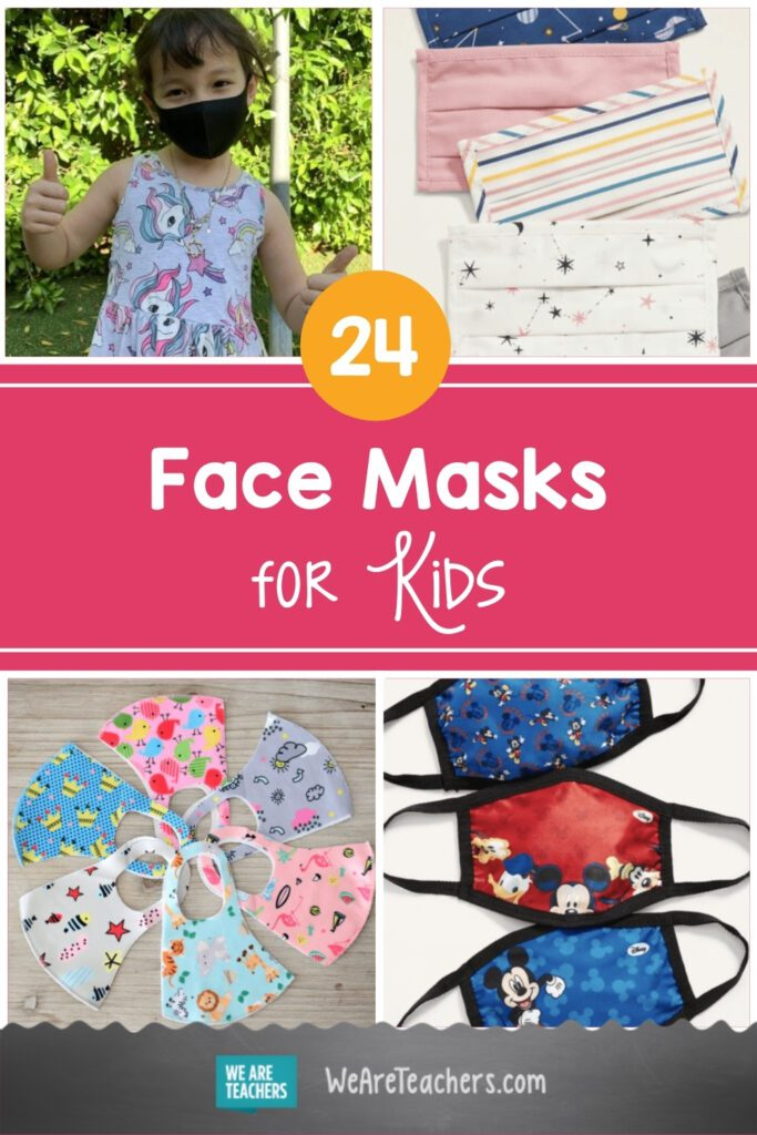 24 of Our Favorite Face Masks for Kids