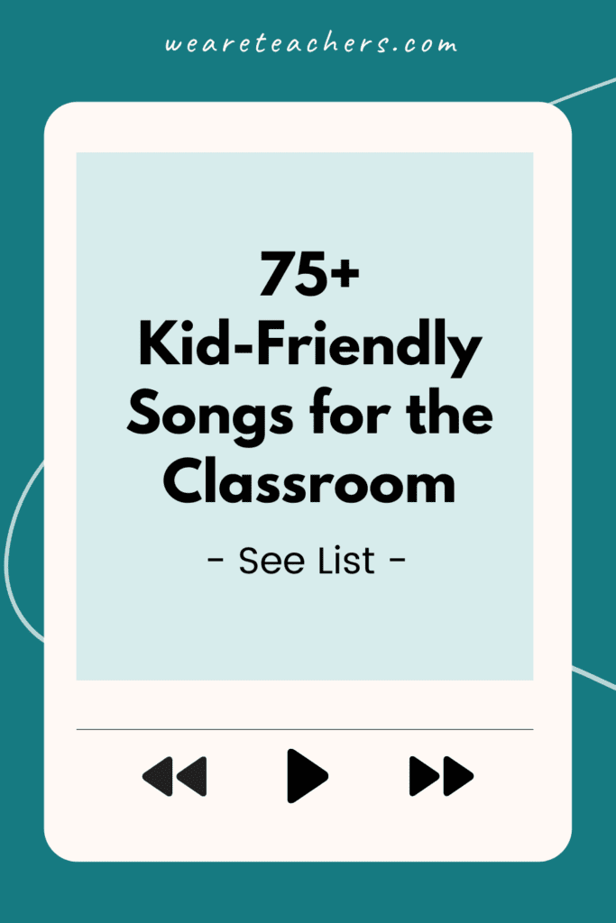 The Big List of School-Appropriate Songs To Keep Everyone Pumped Up and Motivated