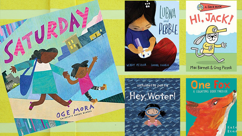 Multiple book covers -- online morning meeting