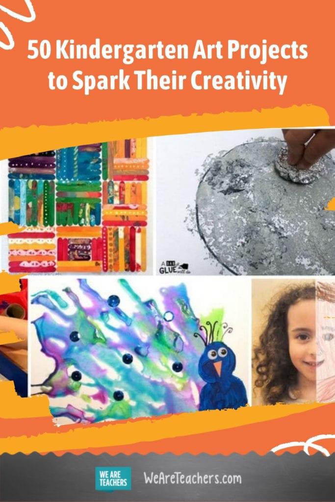 50 Kindergarten Art Projects to Spark Their Creativity